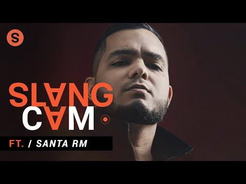 Santa RM sobre la escena de rap en el norte de México y su próximo disco | SlangCam