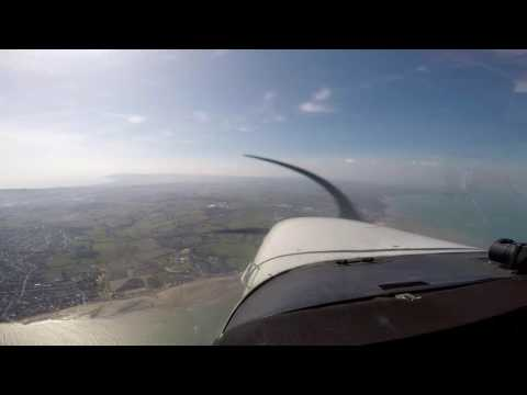 VFR Approach Sandown RWY 23
