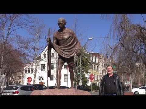 India Embassy and Mahatma Gandhi Statue  - REAL USA Ep. 146