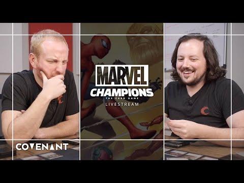 Captain America and Ms. Marvel v. Green Goblin (Expert)   Marvel Champions LCG