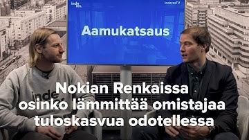 Nokian Renkaissa osinko lämmittää omistajaa tuloskasvua odotellessa