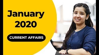 Current Affairs | January 2020 | Monthly Current Affairs 2020
