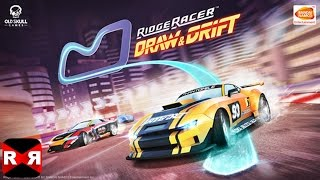 Ridge Racer Draw And Drift (By BANDAI NAMCO Entertainment Europe) - iOS / Android - Gameplay Video