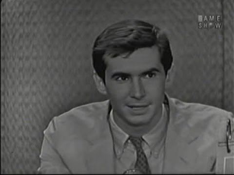 What's My Line?  Anthony Perkins; Martin Gabel panel; Zsa Zsa Gabor panel Jun 14, 1959