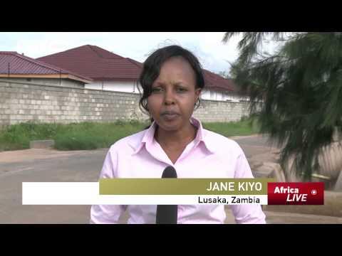 Heavy Rains Hamper Voting in Zambia