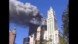 The WTC 2 collapse seen from the City Hall Park (unedited raw video)
