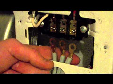 Dryer cord 3 prong cord dryer - YouTube