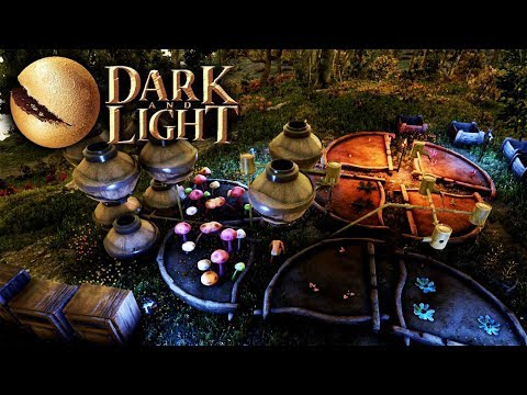 Dark and Light - Farming, Elemental Cores, Fertilizer & Crop Plots (Dark and Light Gameplay Part 8)