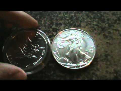Silver Bullion - 1oz American Silver Eagle