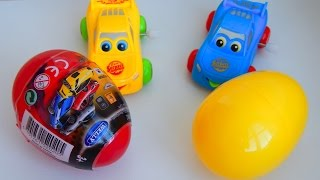 Для детей мультфильмы Открываем сюрпризы Welly учим цвета Развивающие Мультики про машинки mirglory