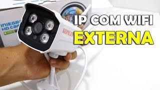 CÂMERA IP EXTERNA WIFI COMPATíVEL COM YOOSEE E YYP2P