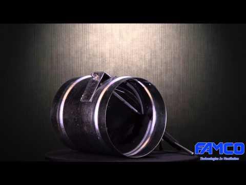 Pressure Relief Damper - Barometric - HVAC Famco Manufacturing
