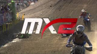 David Herbreteau crash MXGP of Sweden 2015 - motocross