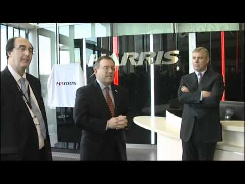 H.R.H The Duke of York KG  Officially Opening Harris Corp. European HQ