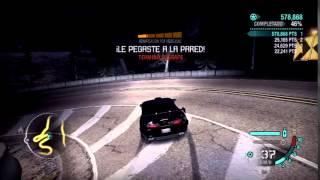Derrape en el cañon Toyota Supra NFS Carbon Xbox 360