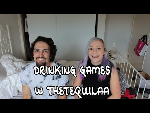 Drinking Games with TheTequilaa / Luke Hughes