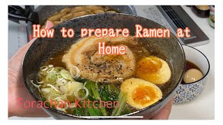 How to prepare Raṁen at home