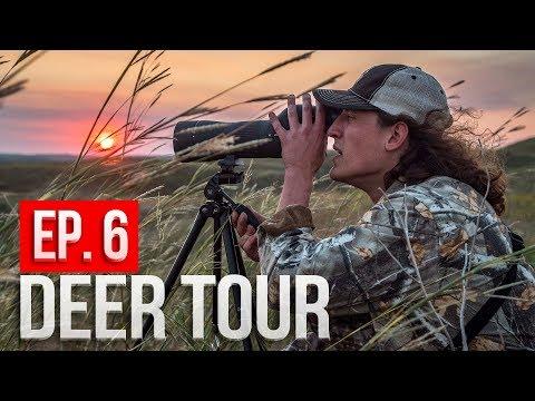 Nebraska PUBLIC LAND Scouting! -  DEER TOUR E6