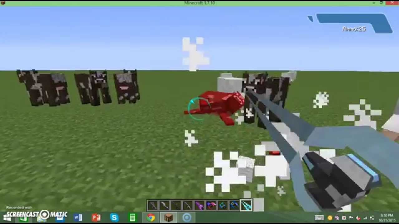 Halocraft mod for minecraft 1. 7. 10 and 1. 6. 4.