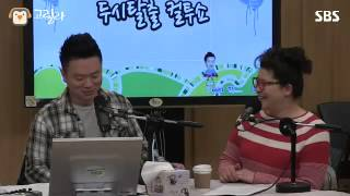 [SBS]컬투쇼, 이영자, 김태균과 재연하는 SNL 그겨울 바람이 분단다