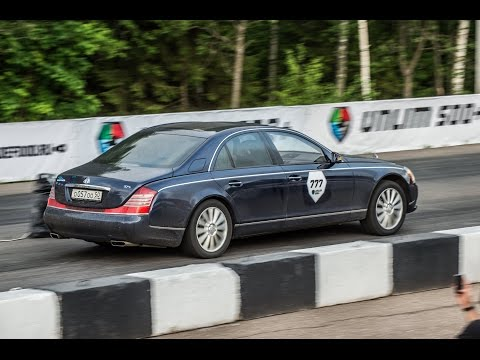 Maybach 57S vs Audi S8 vs Mercedes CL63 AMG