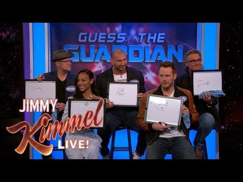 The Cast of Guardians of the Galaxy Vol. 2 Plays Guess the Guardian