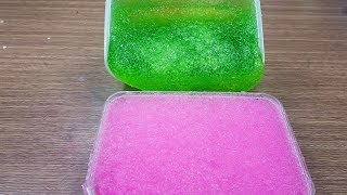Pink Snow Slime and Green Snow Slime