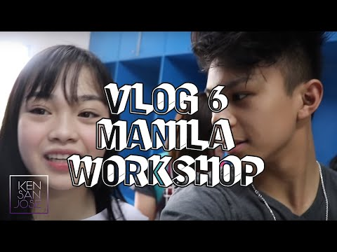 Manila workshop w/ AC Bonifacio / Vlog