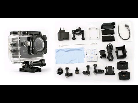 Unboxing Test et d ballage Camera full HD sport extreme 1080p SJ4000
