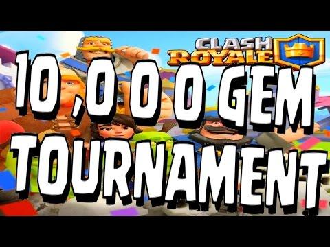 Clash Royale - 10K GEM PRIZE TOURNAMENT!