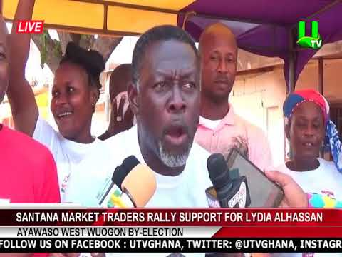 Ayawaso West Wuogon By-Election: Santana Market traders rally support for Lydia Alhassan