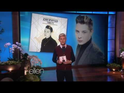 John Newman singing Love Me Again on Ellen