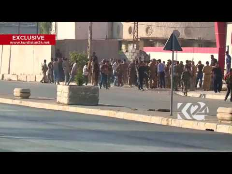 clashes between Kirkuk security and ISIS militants