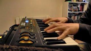Akai MINIAK Demo Part 3 Pad and Strings