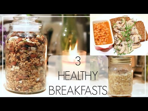 3 Healthy Breakfasts | Niomi Smart