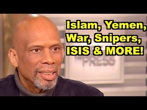 Islam, ISIS, Yemen, War -Kareem Abdul-Jabbar, Bill Maher MORE! LiberalViewer Sunday Clip Round-Up 92