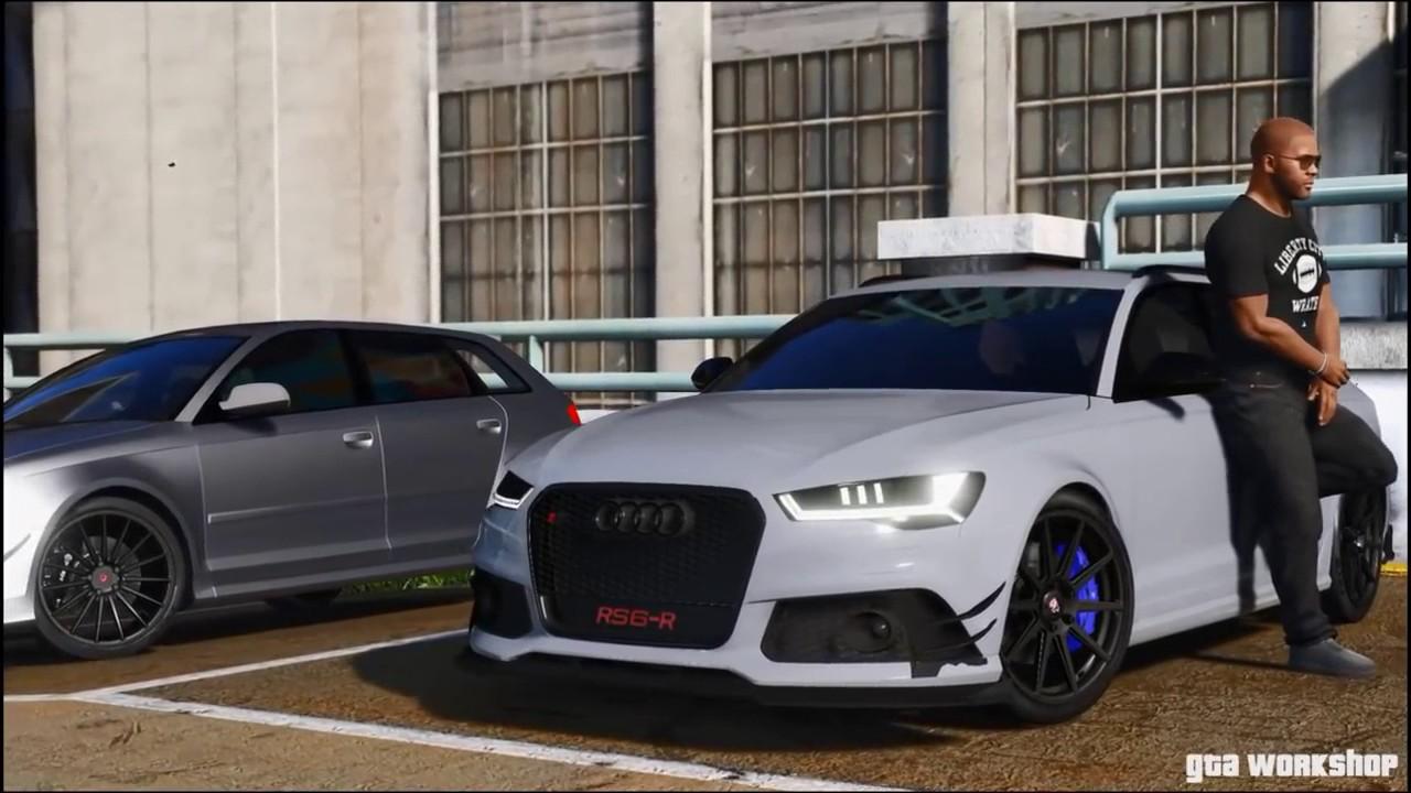 GTA V Audi Car Meet Up With Real Cars MODs GTA PC Mods - Audi car gta 5