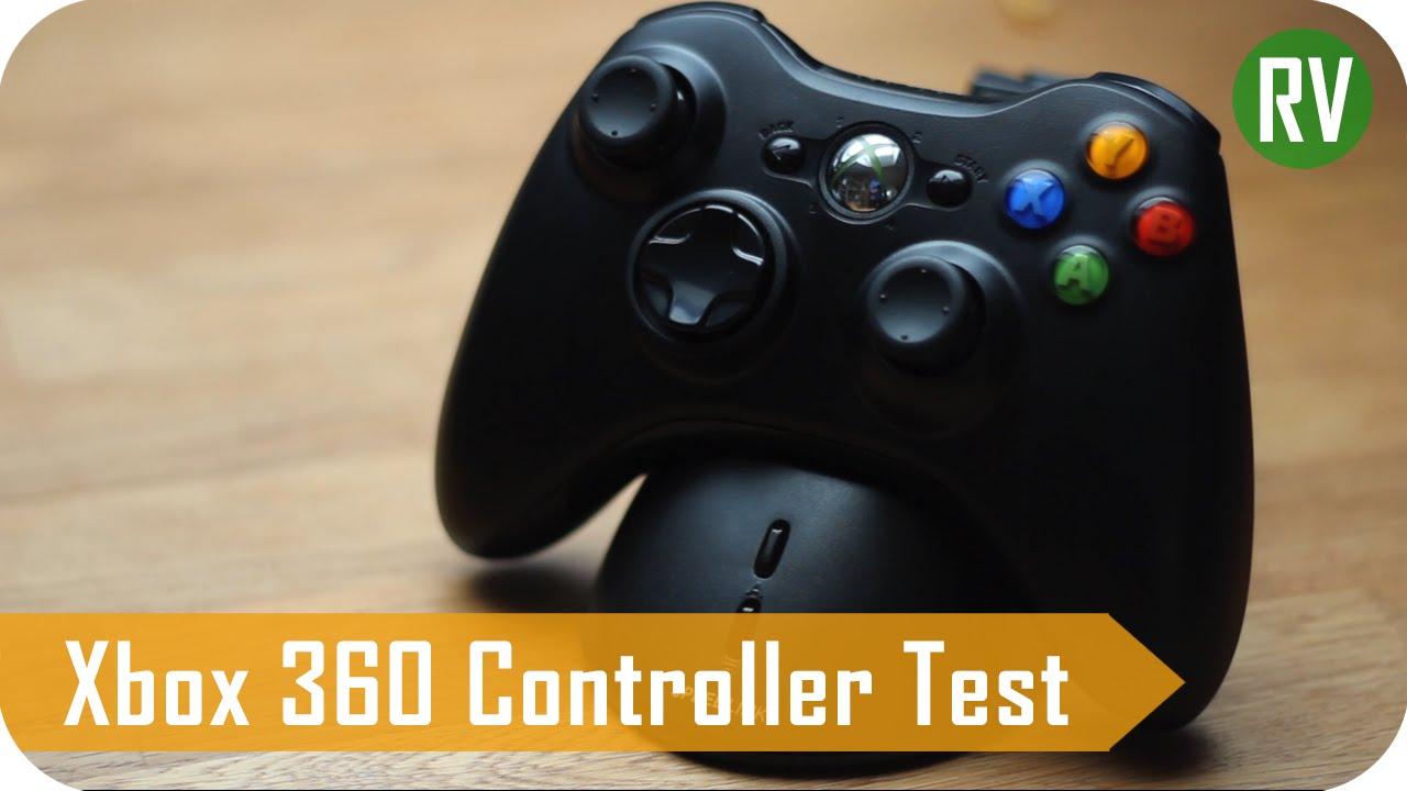 Xbox 360 Controller am PC Review / Test | PC-Tauglich? [Deutsch