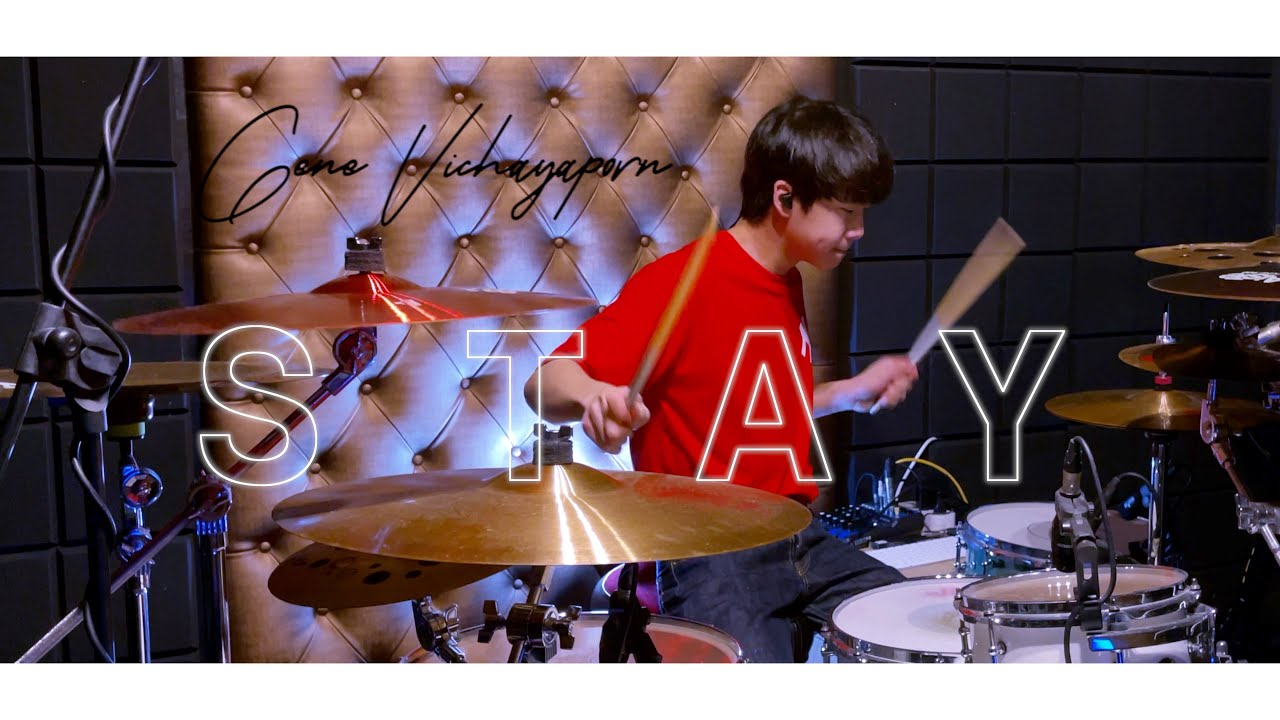 The Kid LAROI , Justin Bieber - STAY   Drum cover   Gene 14 Years old