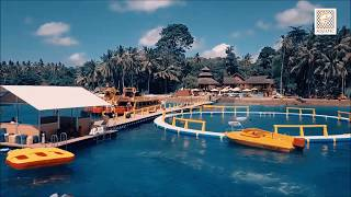 Sarana Wisata Terapung Aquatec di Nusa Penida, Bali