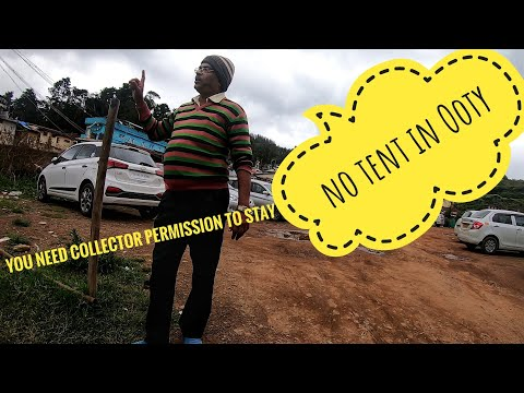 collector permission to pitch tent ⛺in Ooty   All India bicycle tour   Day 8 thumbnail