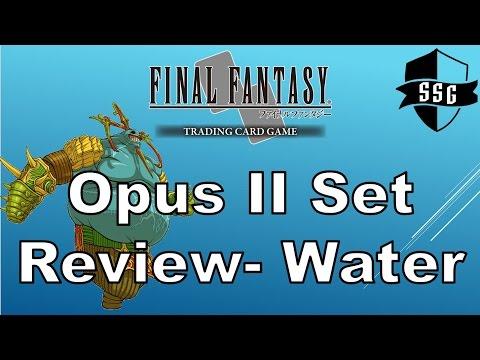 FFTCG Opus II Set Review - Water