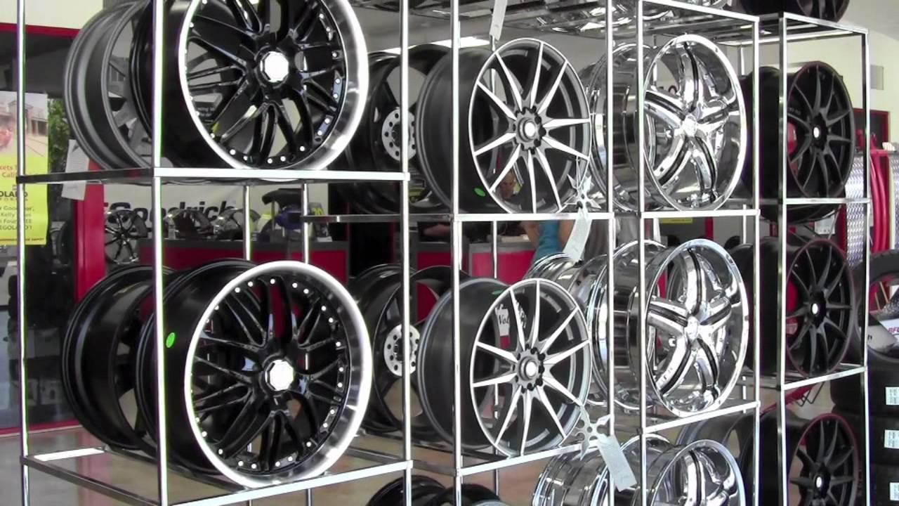 "American Tire Depot >> American Tire Depot Presents ""Custom Wheels"" - YouTube"