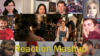 belle clip disneys beauty and the beast reaction mashup