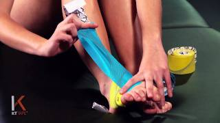 KT Tape: Top of Foot