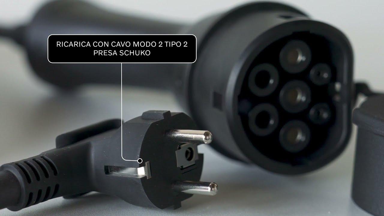 Tutorial Volvo PLUG-IN HYBRID Ricarica da presa domestica Schuko