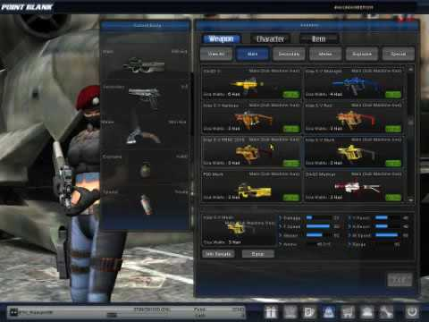 PB Garena Full Chas Senjata / Sorum Senjata