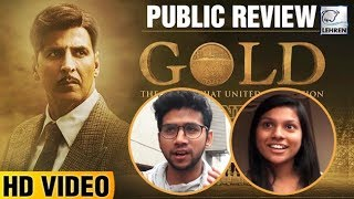 Gold Public Review   Akshay Kumar, Mouni Roy   LehrenTV