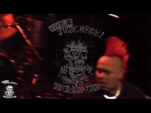 The Exploited Live at Vive Le Punk Rock Festival in Athens on Feb 24th 2017 (Full Set) (HD Multicam)