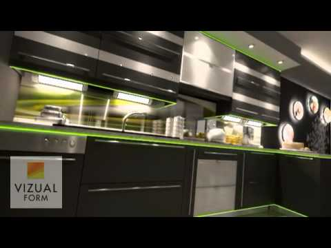 Kitchen Interior Design Combined With A Dining Room And